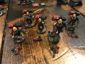 Warhamer 40 k blood angels - 5 man squads