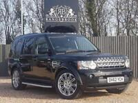 2012 62 LAND ROVER DISCOVERY 4 3.0 4 SDV6 HSE 5DR 7SEATS AUTO DIESEL