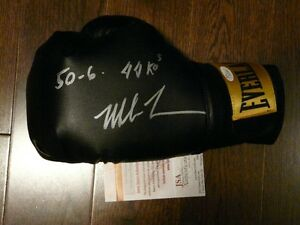 Mike Tyson signed boxing glove - various inscriptions JSA/COA Cambridge Kitchener Area image 5