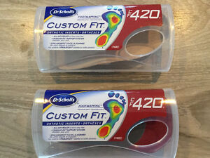 NEVER USED - Dr. Scholl's Custom Fit Orthotic Inserts CF 420