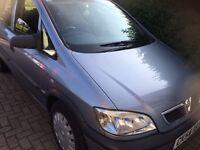 Vauxhall Zafira 1.6 mpv 7 seater 54 reg long mot fsh low insurance
