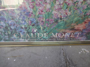 Claude Monet Painting With Frame Kitchener / Waterloo Kitchener Area image 2