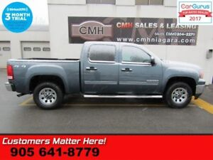2013 GMC Sierra 1500 SLE  4X4 5.3L POWER GROUP SIDE-STEPS CHROME