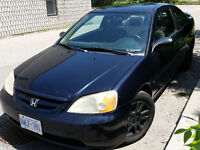 2001 Honda Civic Si Coupe (2 door)   Emission tested