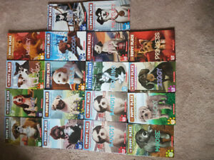 18 puppy place books retails for $6.00 each