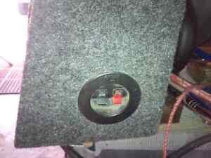 """MTX SUB In ported box 8"""""""