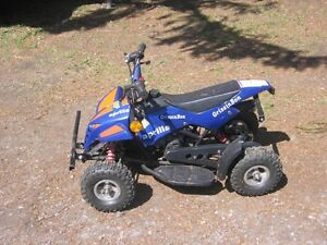 Mini pocket bike size 4 wheeler