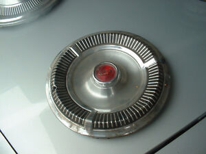 More Hubcaps from 60's and 70's