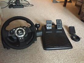 Logitech Driving Force Pro PS3 Racing Wheel