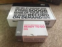 Sky+HD box and Sky Hub
