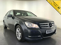 2013 MERCEDES-BENZ C220 EXECUTIVE SE CDI BLUE-CY 4 DOOR SALOON FINANCE PX