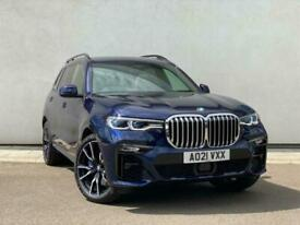 image for 2021 BMW X7 DIESEL ESTATE xDrive40d MHT M Sport 5dr Step Auto SUV Diesel Automat