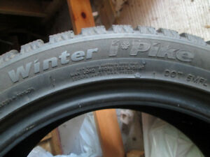 Set of 4 Hankook Snow Tires