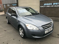 2008 08 KIA CEED 1.6 PETROL,MANUAL,59000 MILES WITH FULL SERVICE HISTORY
