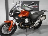 "MOTO GUZZI STELVIO NTX ABS Mt Red 2016 16' ""FULLY LOADED"" 2016 16 plate"