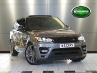 2013 LAND ROVER RANGE ROVER SPORT V8 AUTOBIOGRAPHY DYNAMIC [ REAR SCREEN ENTERTA