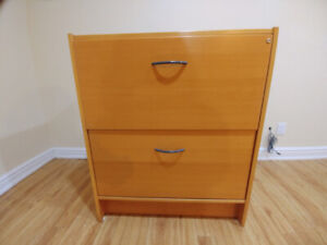 Free - Ikea 2 drawer wooden filing cabinet
