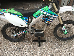 09 KX250F, Bad Rod Bearing, needs rebuilt Blown Blew