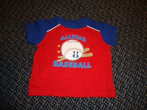 Boys Size 12-18 months Baseball Short Sleeve T-Shirt Kingston Kingston Area image 1