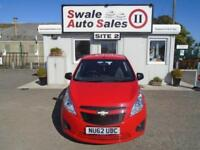 2012 CHEVROLET SPARK PLUS 1L - 32,585 MILES - FULL SERVICE HISTORY - £30 TAX