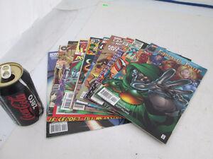 564 - 10 BD comics