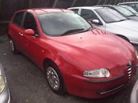 2003 Alfa Romeo 147 1.6 TS 5dr 5 door Hatchback
