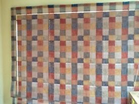 Roman blinds in neutral colours