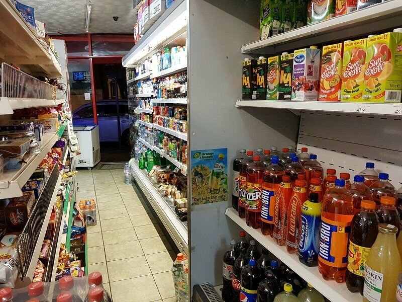 FOOD & WINE SHOP FOR SALE WITH 3 BEDROOM FLAT