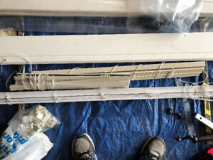 Window Blinds (Mostly Aluminum and some Plastic) - $50 O.B.O