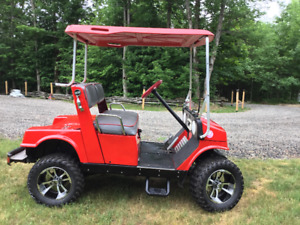 Customized GasPowered Yamaha Golf Cart