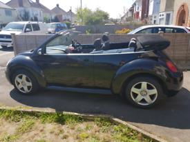 vw beetle convertible 1.6 2004