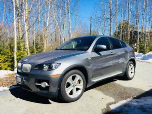 BMW X6 loaded