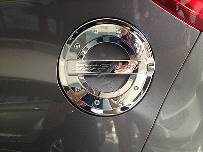 Chrome Fuel Tank Lid Oil Cap Cover Trim for Ford Ecosport 2013-2017 Words