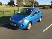 2012 12 Ford Ka 1.2 ( 69ps ) ( s/s ) Edge Blue Ultra Low Mileage