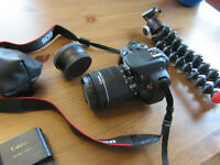 Canon Rebel SL1 Digital SLR w/ 18-55mm STM Lens