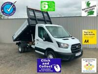 2020 Ford Transit 2.0 130 350 LEADER SINGLE CAB ALLOY TIPPER ECOBLUE ** IN STOC