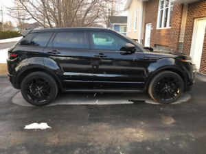 RANGE ROVER EVOQUE HSE 2016 BLACK PACK