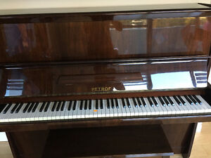 PETROF upright piano in great condition