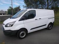 FORD TRANSIT CUSTOM ECOTECH 290 100PS VAN L1H1 65 REG ONLY 14,600 MILES