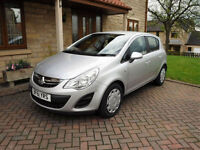 2011 Vauxhall Corsa 1.2 Excite 5 Door Automatic gearbox ONLY 46000 MILES