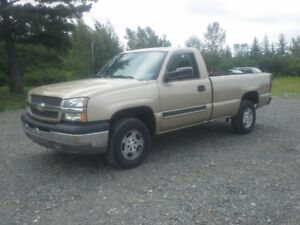 2004 CHEVROLET 1500 4X4 !! FRESH M.V.I !! LOW KMS !!