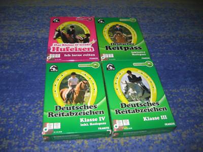 Hufeisen, Basis (Deutscher Reitpass inkl. Basispass + Hufeisen + Reitabzeichen Klasse 3 und 4)