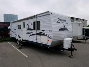 2007 Dutchmen Classic Deluxe Double Travel Trailer Ready to CAMP