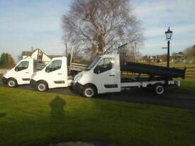 RENAULT MASTER F3500 DCI 125 TIPPER 13 REG ONLY 24,000 MILES