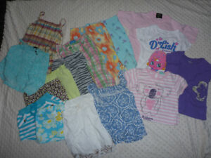 Girl's Size 4T Summer Clothing