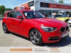 BMW 1 SERIES 116I SPORT 2012 Petrol Manual in Red