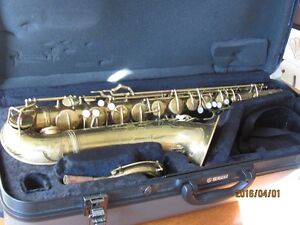 1940 CONN NAKED LADY 10M SAXOPHONE REPADDED,ORIGINAL LACQUER