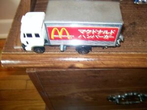 Mcdonalds delivery truck