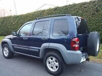 2006  Liberty Trail Rated comme neuf 4x4 Demarreur Pneus Hiver