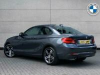 2017 BMW 2 Series 218i Sport Coupe Coupe Petrol Manual